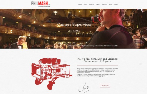 Phil Mash Ltd – Lighting Cameraman